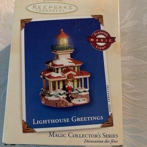 Hallmark Lighthouse Magic Collectors Series